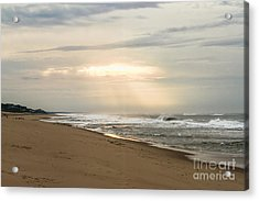 Early Morning By The Shore  Acrylic Print by A New Focus Photography