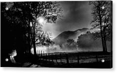 Early Morning Drive. Acrylic Print