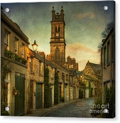 Early Morning Edinburgh Acrylic Print by Lois Bryan