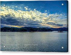 Early Morning Front. Acrylic Print by Paul Herrmann