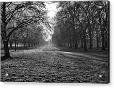 Early Morning In Hyde Park Acrylic Print