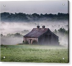 Early Morning In The Mist Standard Acrylic Print