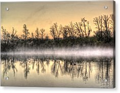Acrylic Print featuring the photograph Early Morning Mist by Lynn Geoffroy