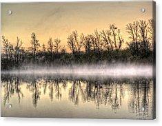Early Morning Mist Acrylic Print by Lynn Geoffroy