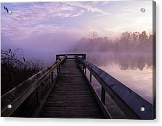 Early Morning Mist Acrylic Print