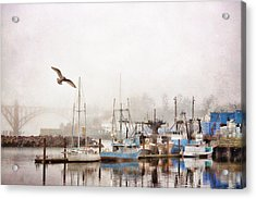 Early Morning Newport Oregon Acrylic Print