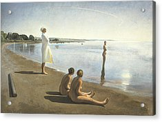Early Morning Acrylic Print by Odd Nerdrum