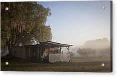 Acrylic Print featuring the photograph Early Morning On The Farm by Lynn Palmer