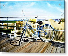 Early Morning Ride Acrylic Print