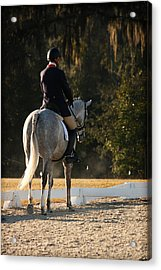 Early Morning Ride Time Acrylic Print