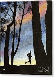 Early Morning Run Acrylic Print