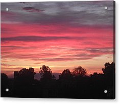 Early Morning Sunrise 2 Acrylic Print