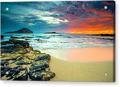 Acrylic Print featuring the photograph Early Morning Sunrise by Robert  Aycock