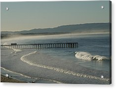 Early Morning Surf Pismo Beach Acrylic Print