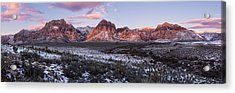 Early Morning Winter Acrylic Print