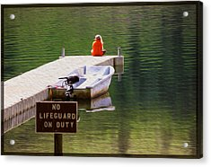 Early One Morning On Patterson Lake Acrylic Print by Omaste Witkowski
