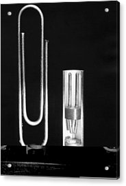 Early Point Contact Transistor Acrylic Print by Science Photo Library