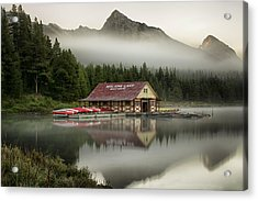 Early Rise Acrylic Print by Yves Gagnon