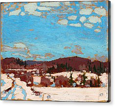 Early Spring Acrylic Print by Tom Thomson