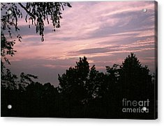 Early Sunrise In Central Illinois Acrylic Print