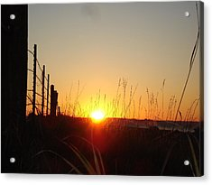 Early Sunrise In September Acrylic Print