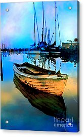 Early Tide Acrylic Print by Barbara D Richards