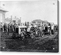Early Tractors, Russia Acrylic Print by Science Photo Library