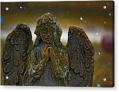 Earth Angel Acrylic Print by Rowana Ray