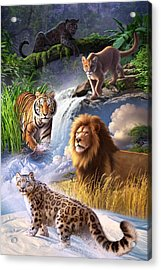 Earth Day 2013 Poster Acrylic Print by Jerry LoFaro