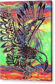 Earth Eagle Acrylic Print