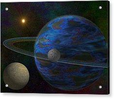 Earth-like Acrylic Print