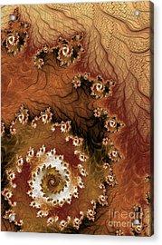 Earth Rhythms Acrylic Print by Heidi Smith