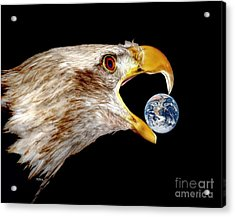 Earth Shattering Influence Acrylic Print