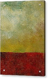 Acrylic Print featuring the painting Earth Study One by Michelle Calkins