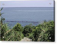 Italian Landscapes - A Path To The Sea Acrylic Print