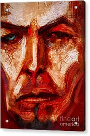 Earthling Acrylic Print by John Lowther