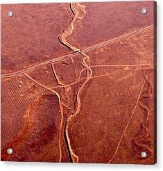 Earthmarks 6 Acrylic Print by Sylvan Adams