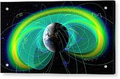 Earth's Radiation And Plasma Belts Acrylic Print