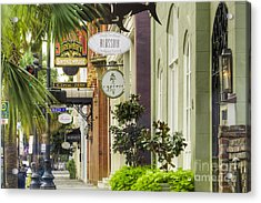 East Bay Street Charleston Sc Acrylic Print