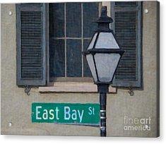East Bay Street Acrylic Print by Dale Powell