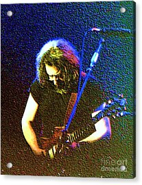 Grateful Dead - East Coast Tour - Jerry Garcia Acrylic Print