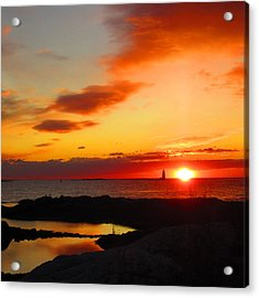 East Coast Sunrise  Acrylic Print