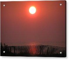 East Coast Sunrise Acrylic Print by John Wartman