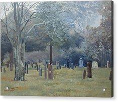 East End Cemetery Amagansett Acrylic Print