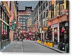 East Fourth Street In Cleveland Acrylic Print