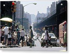 East Harlem Acrylic Print by Erik Falkensteen