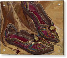 East Indian Shoes Acrylic Print