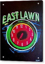 East Lawn Acrylic Print by Paul Guyer
