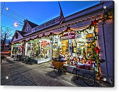 East Moriches Hardware Acrylic Print
