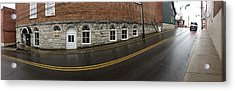 East Oak St Mount Airy Nc Acrylic Print by Greg Joens